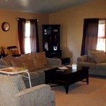 The Arc of Dunn County Residential Living Room